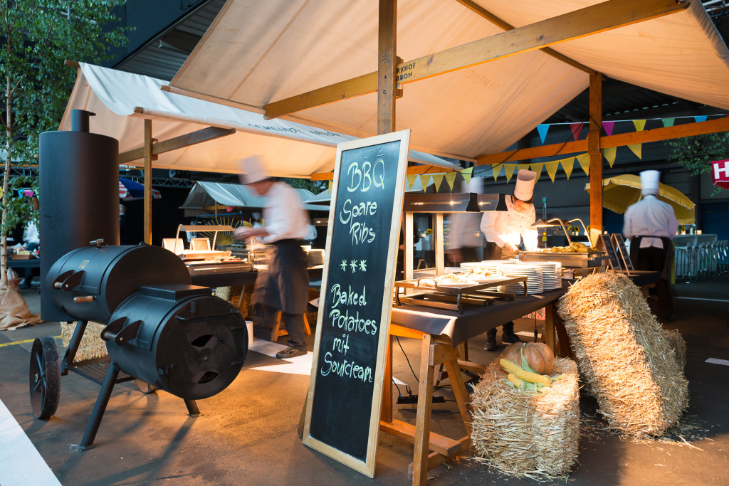 HP Firmenevent - Catering Thema: New York Streetfood
