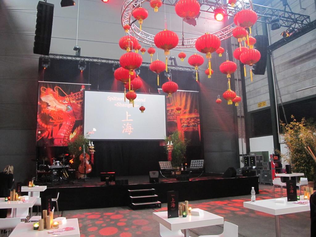 Kundenevent PricewaterhouseCoopers, 350 Gäste