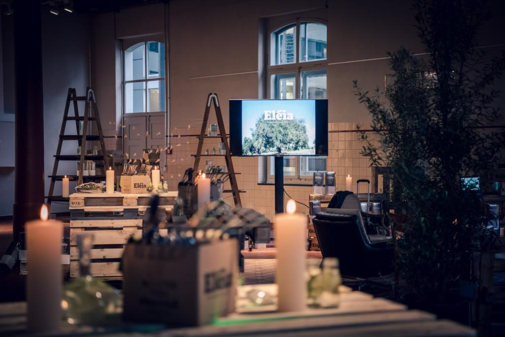 Mangosteen Catering, Produktpräsentation in der Maschinenhalle