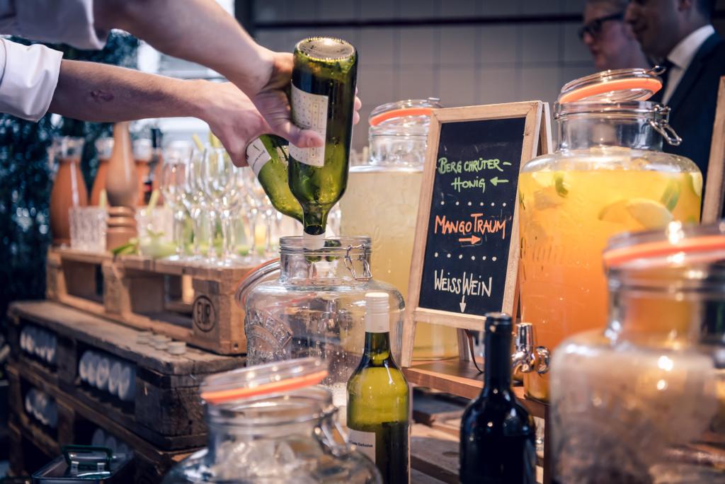Bar, Mangosteen Catering, Maschinenhalle