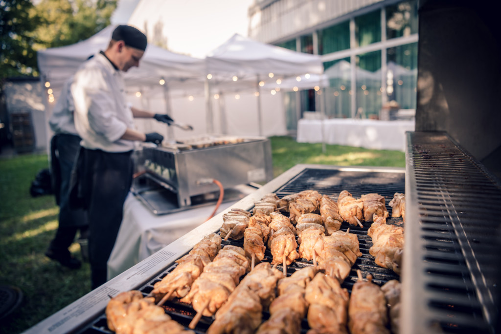 Barbecue, Mangosteen Catering, Kunsthaus Zürich