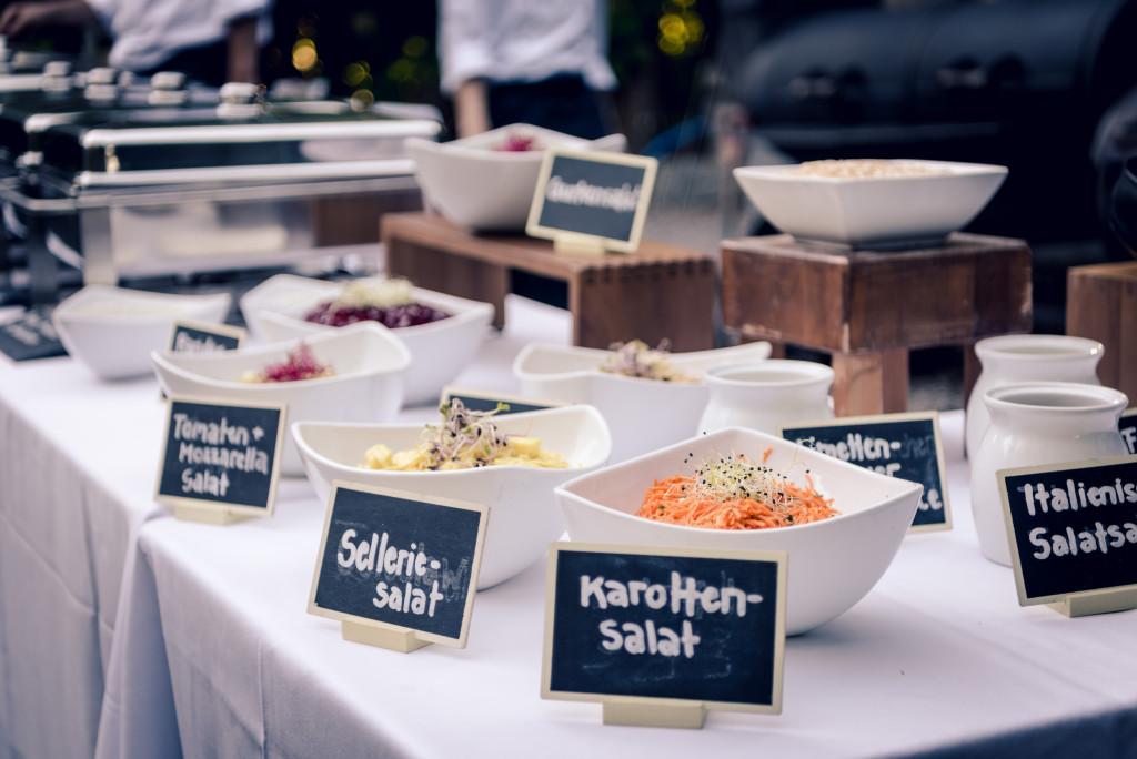 Mangosteen Catering, Hochzeit im Traumgarten Thalwil, Barbecue
