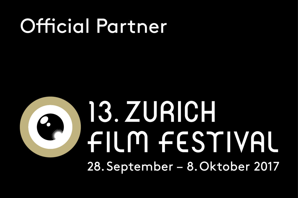 Official Partner 13. Zurich Film Festival